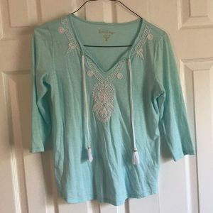 Lilly Pulitzer 3/4 top